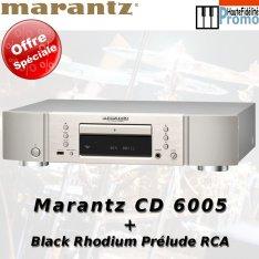 Marantz CD 6005 + RCA Prélude