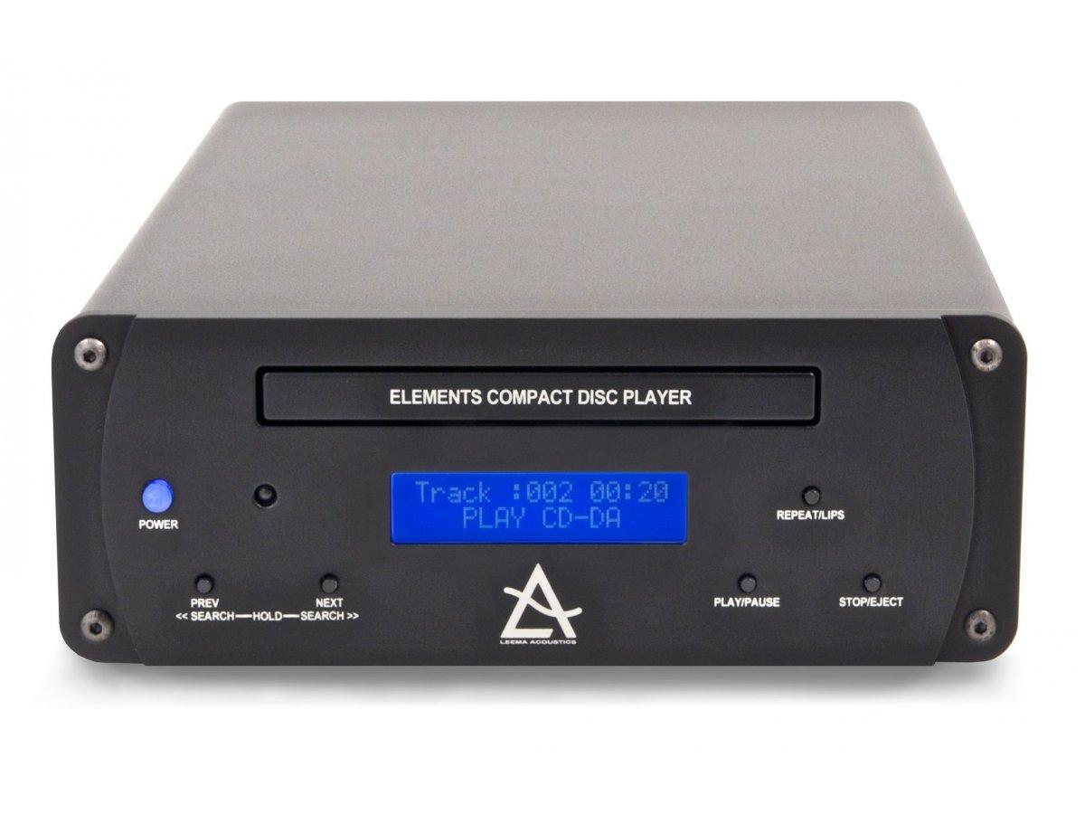leema acoustics elements cd lecteur cd haute fidelite. Black Bedroom Furniture Sets. Home Design Ideas